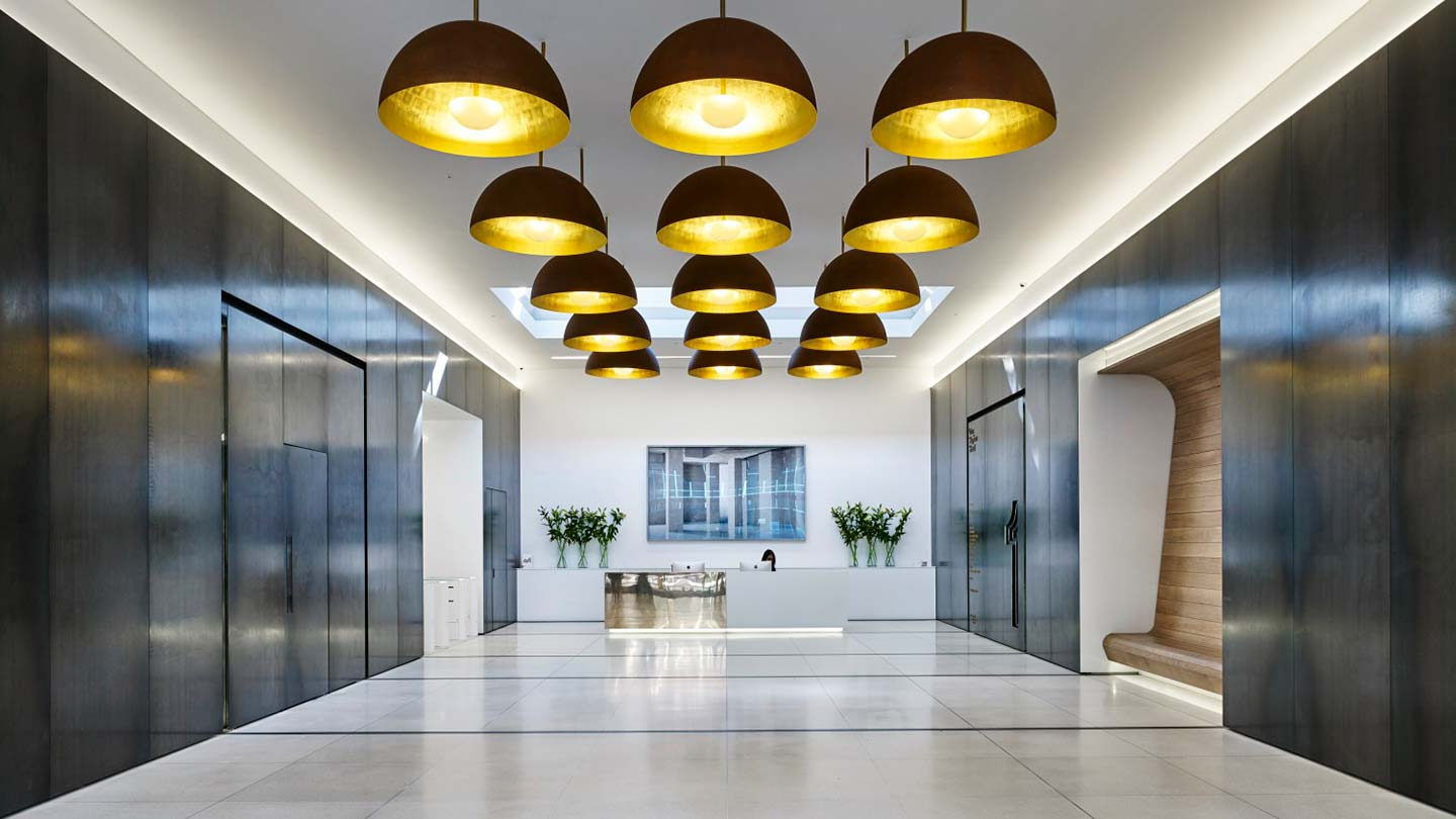 One Stephen Street reception
